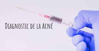 Diagnostic de la Acné