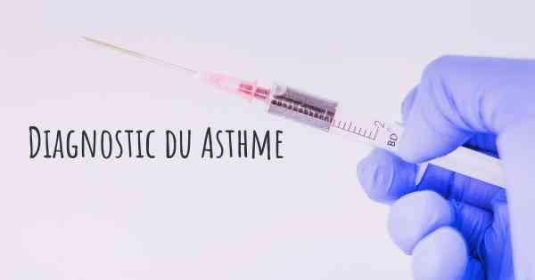 Diagnostic du Asthme