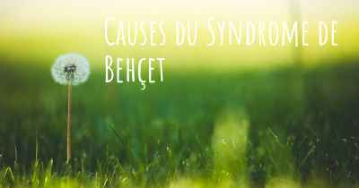 Causes du Syndrome de Behçet