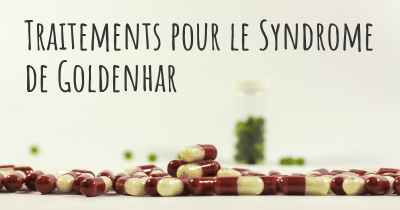 Traitements pour le Syndrome de Goldenhar