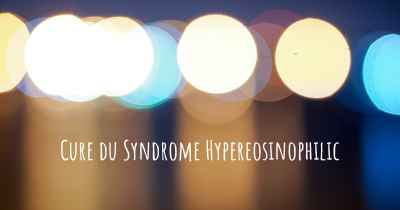Cure du Syndrome Hypereosinophilic