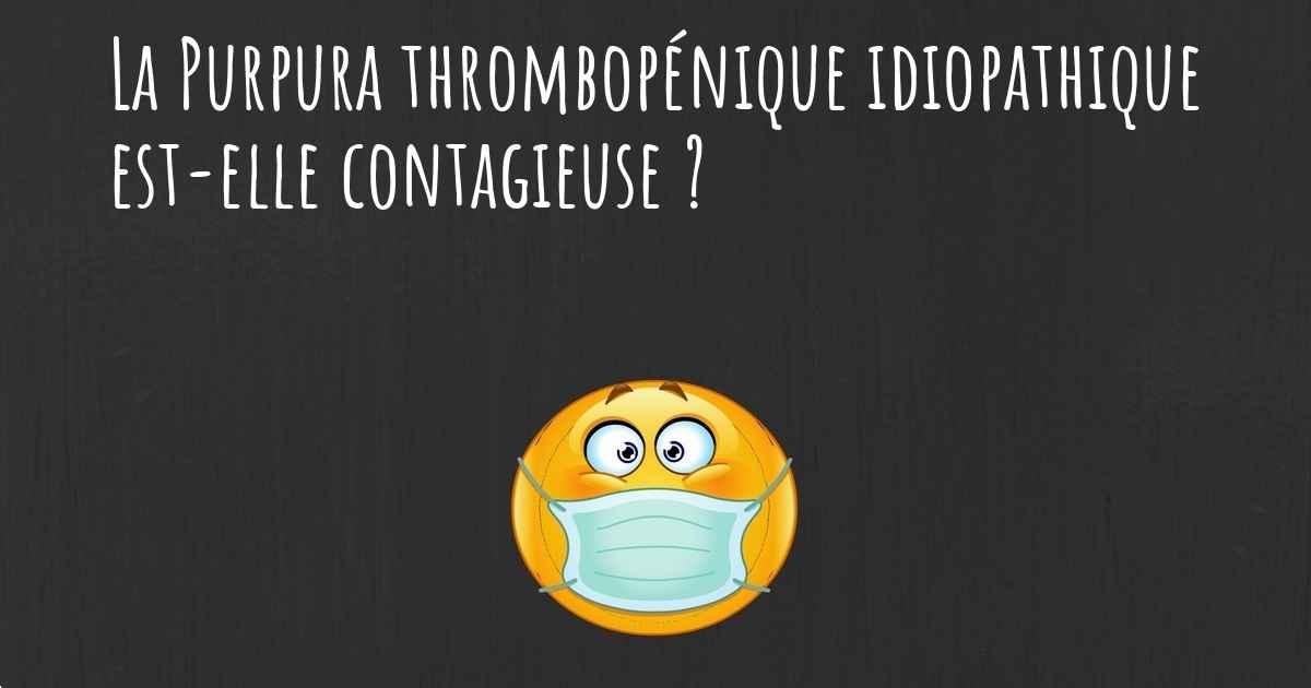 purpura thrombopénique idiopathique traitement