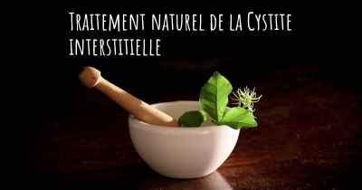 Traitement naturel de la Cystite interstitielle
