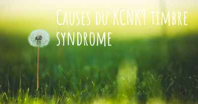 Causes du KCNK9 timbre syndrome