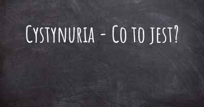 Cystynuria - Co to jest?