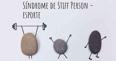 Síndrome de Stiff Person - esporte