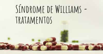Síndrome de Williams - tratamentos