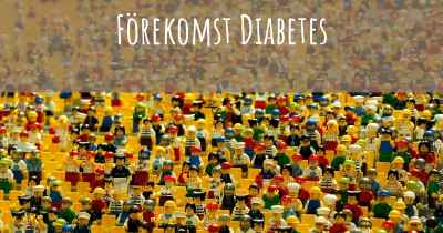 Förekomst Diabetes