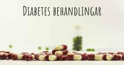 Diabetes behandlingar