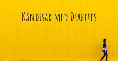 Kändisar med Diabetes
