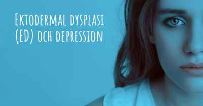 Ektodermal dysplasi (ED) och depression