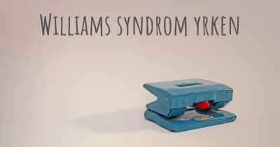 Williams syndrom yrken
