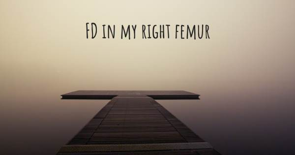 FD IN MY RIGHT FEMUR