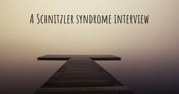 A Schnitzler syndrome interview