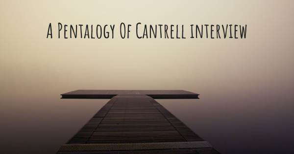 A Pentalogy Of Cantrell interview