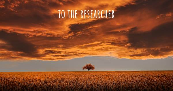 TO THE RESEARCHER