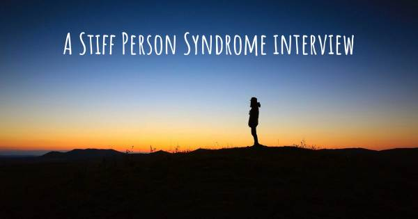 A Stiff Person Syndrome interview