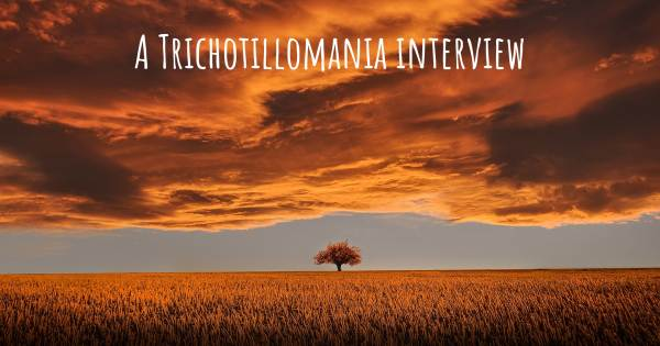 A Trichotillomania interview