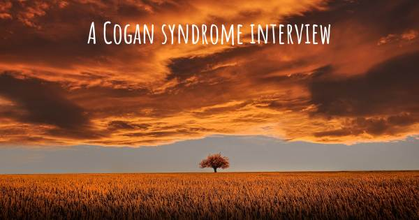 A Cogan syndrome interview