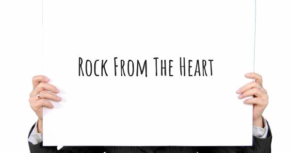 ROCK FROM THE HEART