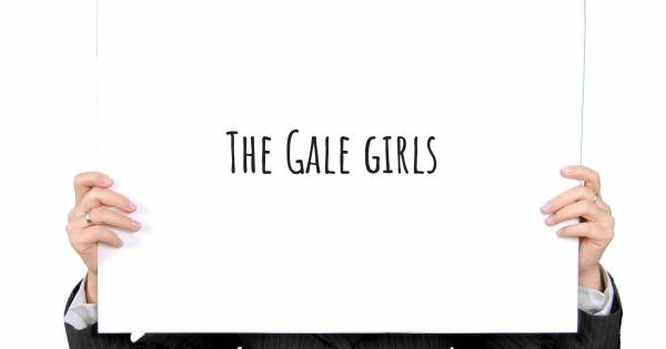 THE GALE GIRLS