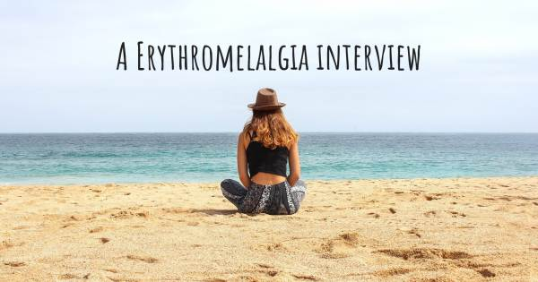 A Erythromelalgia interview