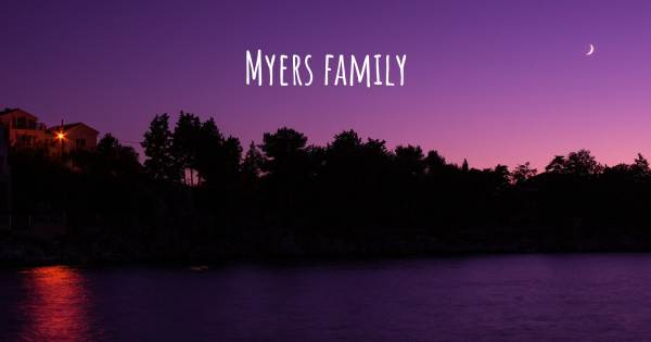 MYERS FAMILY