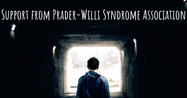 SUPPORT FROM PRADER-WILLI SYNDROME ASSOCIATION