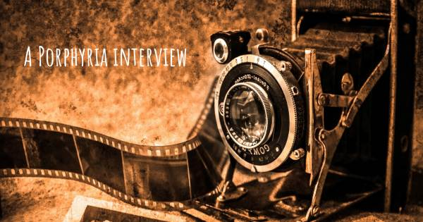 A Porphyria interview