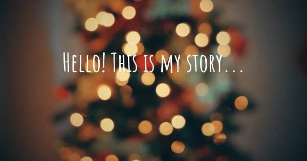 HELLO! THIS IS MY STORY...