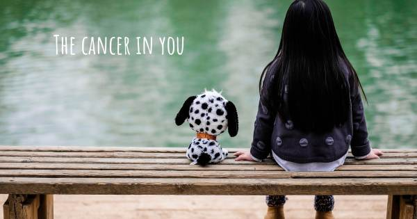 THE CANCER IN YOU