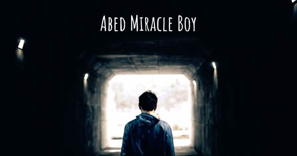 ABED MIRACLE BOY