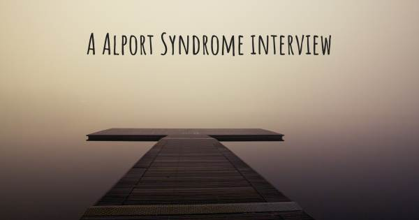 A Alport Syndrome interview