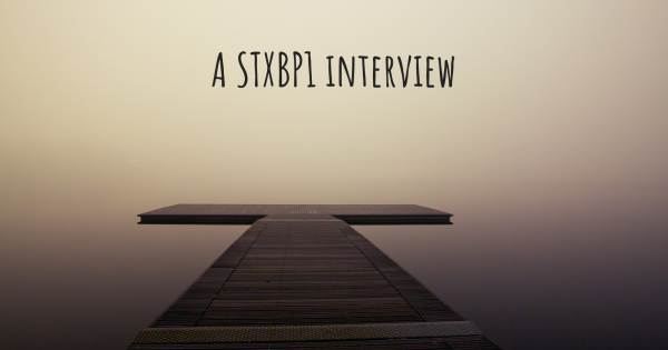A STXBP1 interview