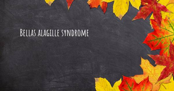BELLAS ALAGILLE SYNDROME