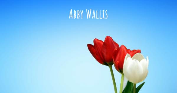 ABBY WALLIS